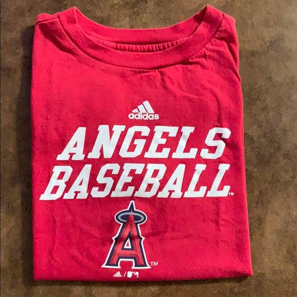 adidas shirt with angels